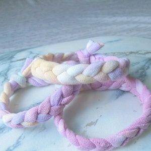 Hand Woven Bracelets (Sorbet)